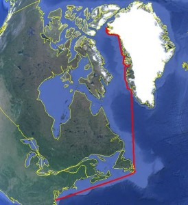 ORP West Greenland Expedition Route
