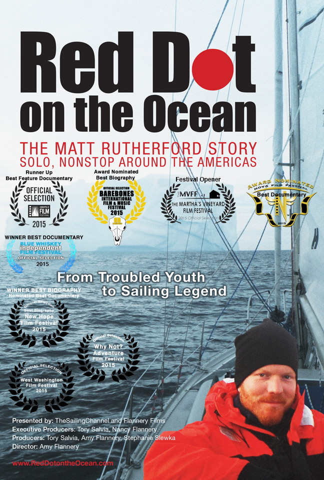 Red Dot on the Ocean: The Matt Rutherford Story Movie Poster